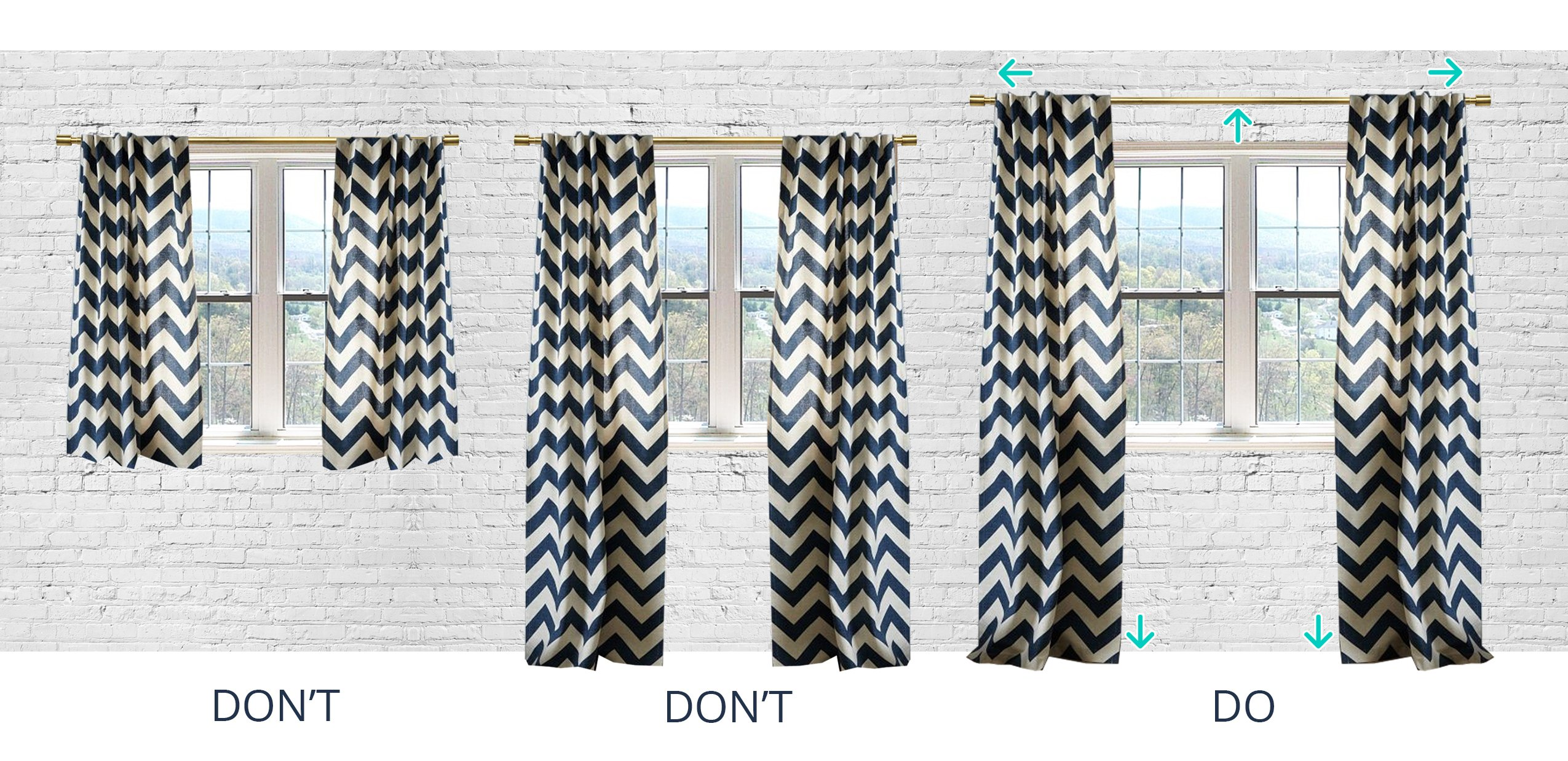 Hanging Curtains designer tip: how to hang your curtains | the havenly blog
