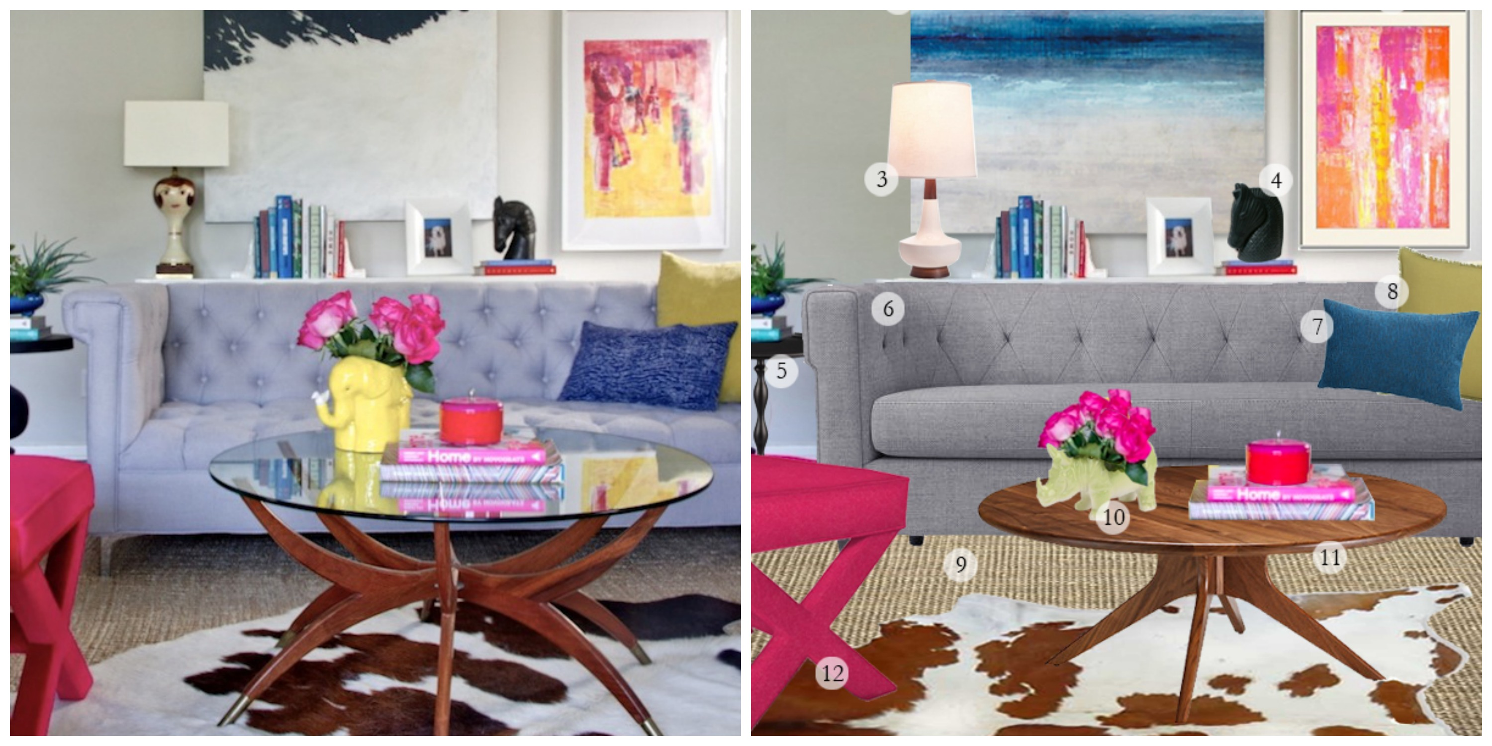 Get The Look Modern Bright by Emily Henderson The Havenly Blog