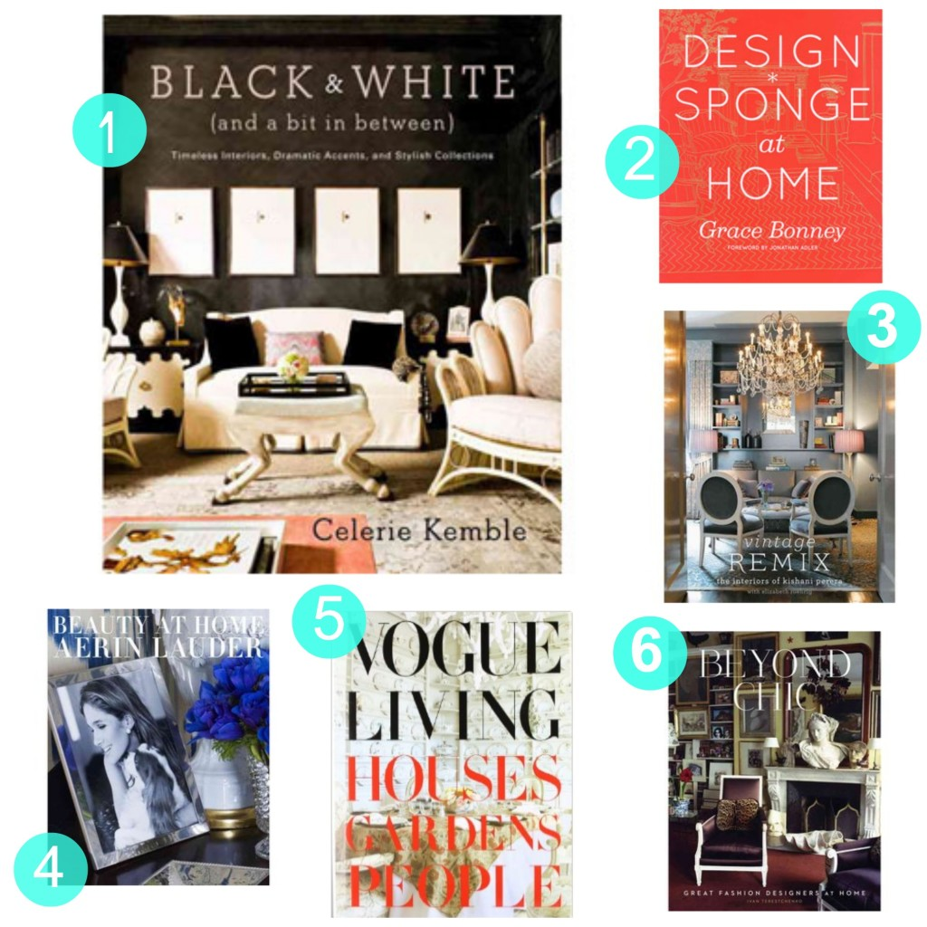 Tuesday ten best design coffee table books the havenly blog for Interior design books