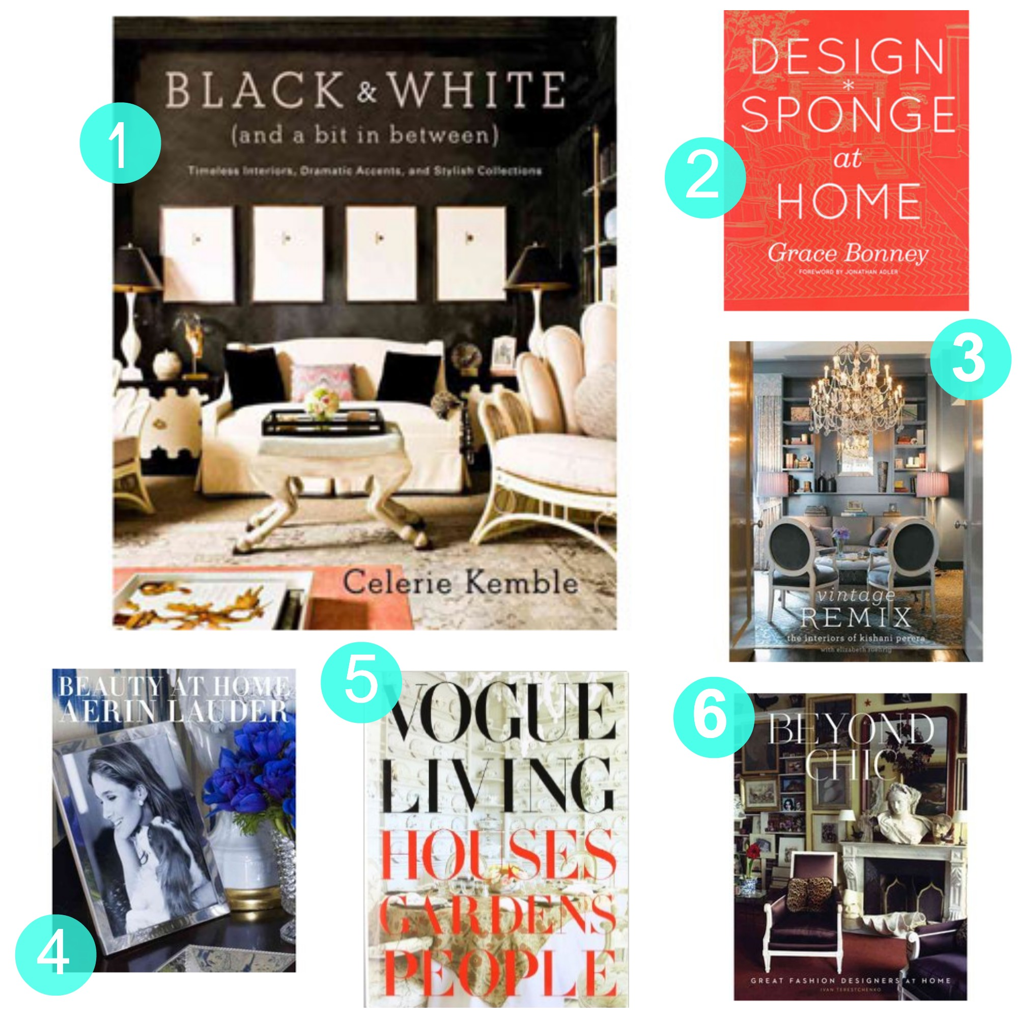 Tuesday Ten: Best Design Coffee Table Books | The Havenly Blog