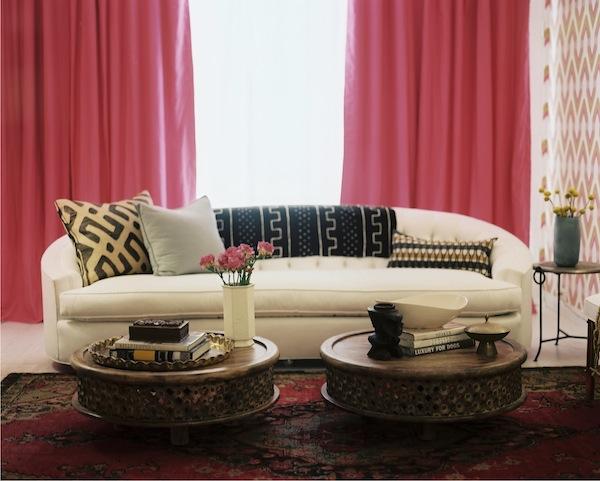 Ten Best Black and White Throw Blankets via The Havenly Blog/ Emily Henderson