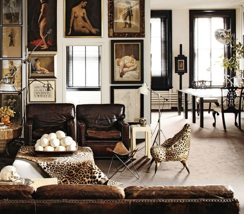 10 Best Leather Sofas via Havenly