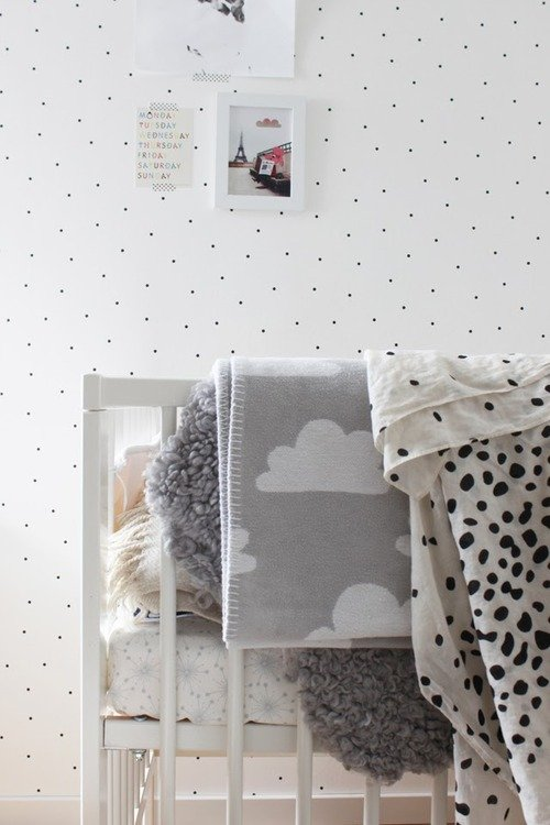 Ten Best Black and White Throw Blankets via The Havenly Blog