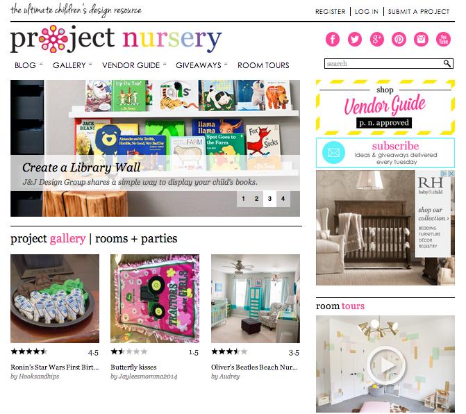 Project Nursery via blog.havenly.com