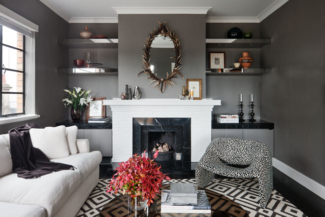 Black And White Fireplaces Havenly