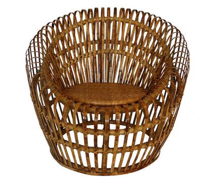 1st Dibs Rattan Chair ||  blog.havenly.com