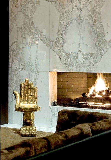 Marble Fireplace ||  Havenly