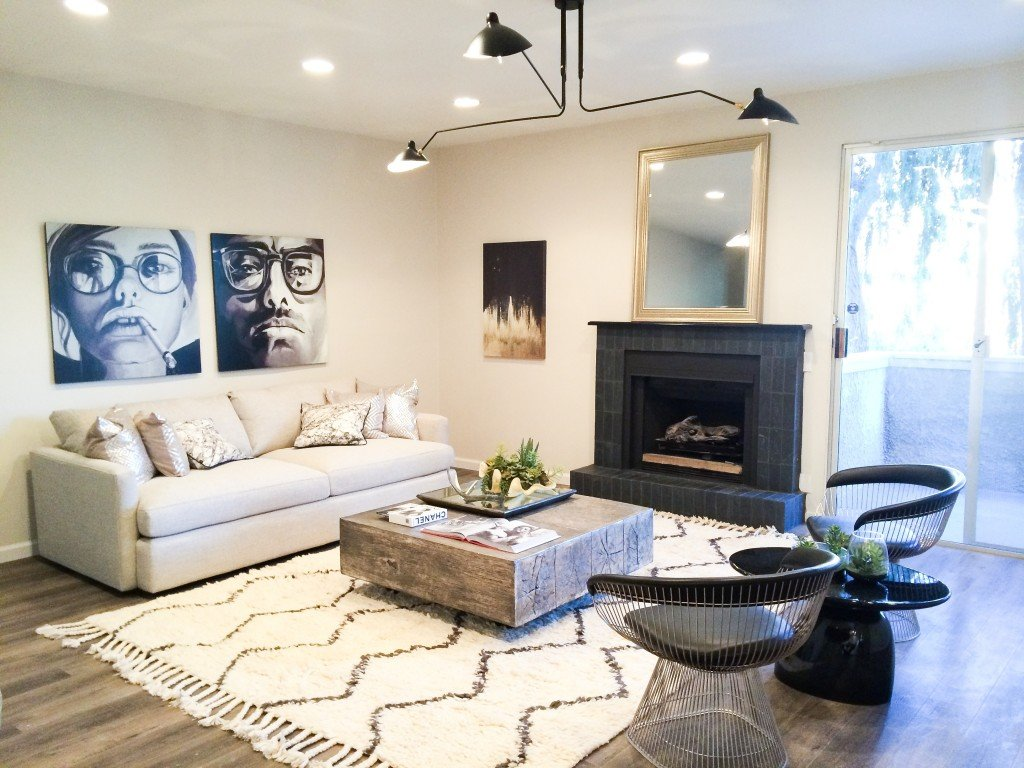 Spotlight on: An Edgy-Glam West Hollywood Home by Jessica Rae Sommer