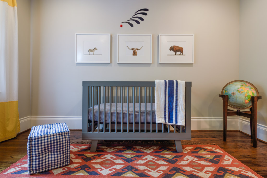 A Southwestern Inspired Nursery by Havenly || www.havenly.com