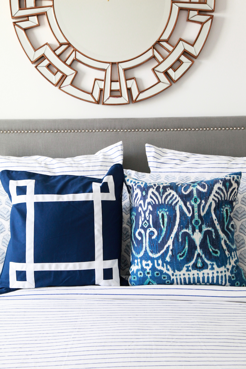 A Preppy Chic Bedroom with a Coastal Vibe ||  Havenly