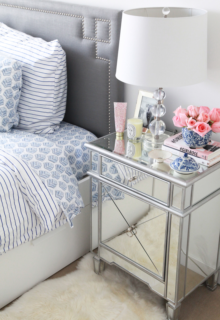 Lemon And Grey Bedroom Client Spotlight A Bloggers Cheerful Connecticut Bedroom The