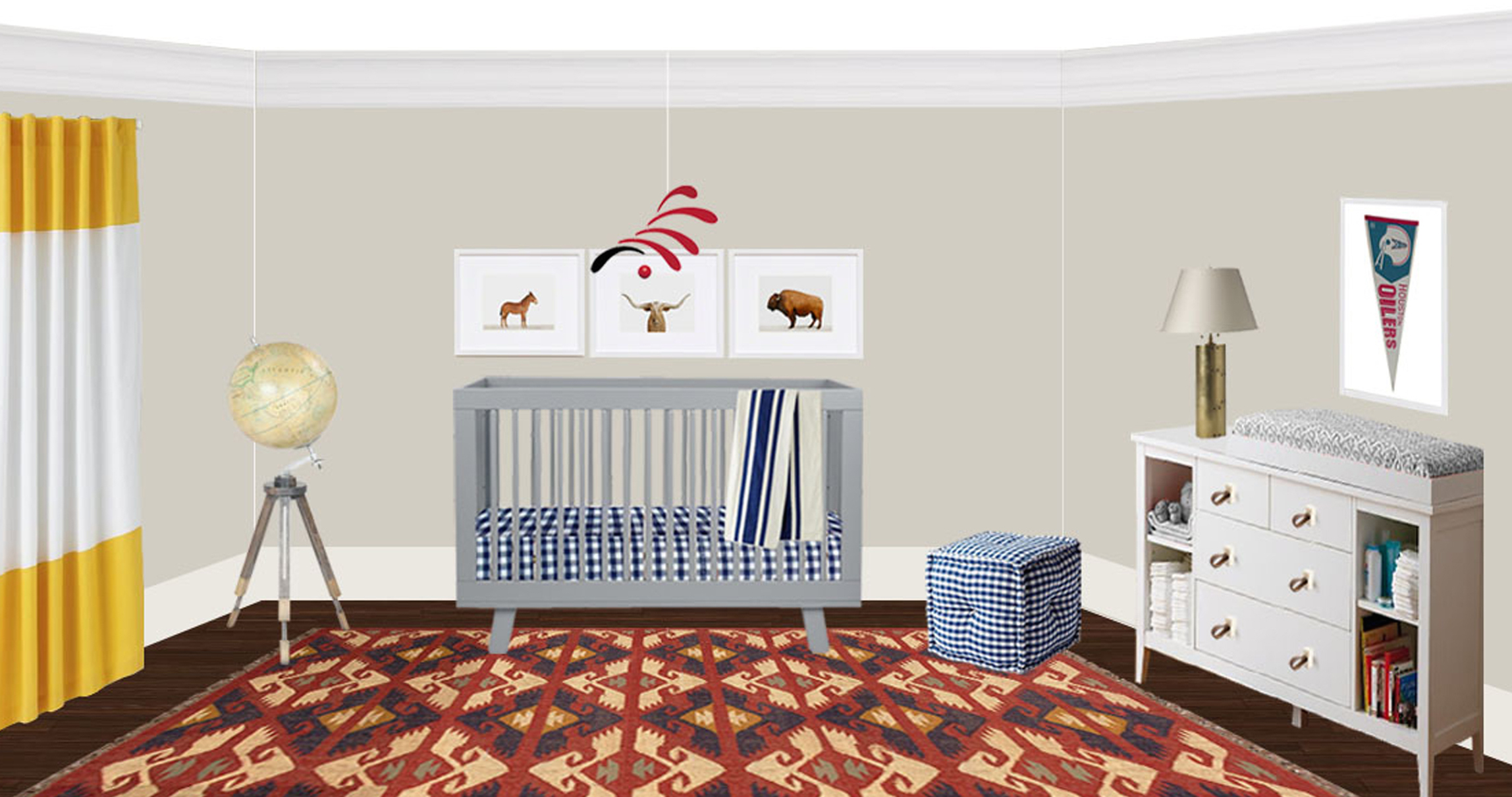 Leslie boys room final rendering!