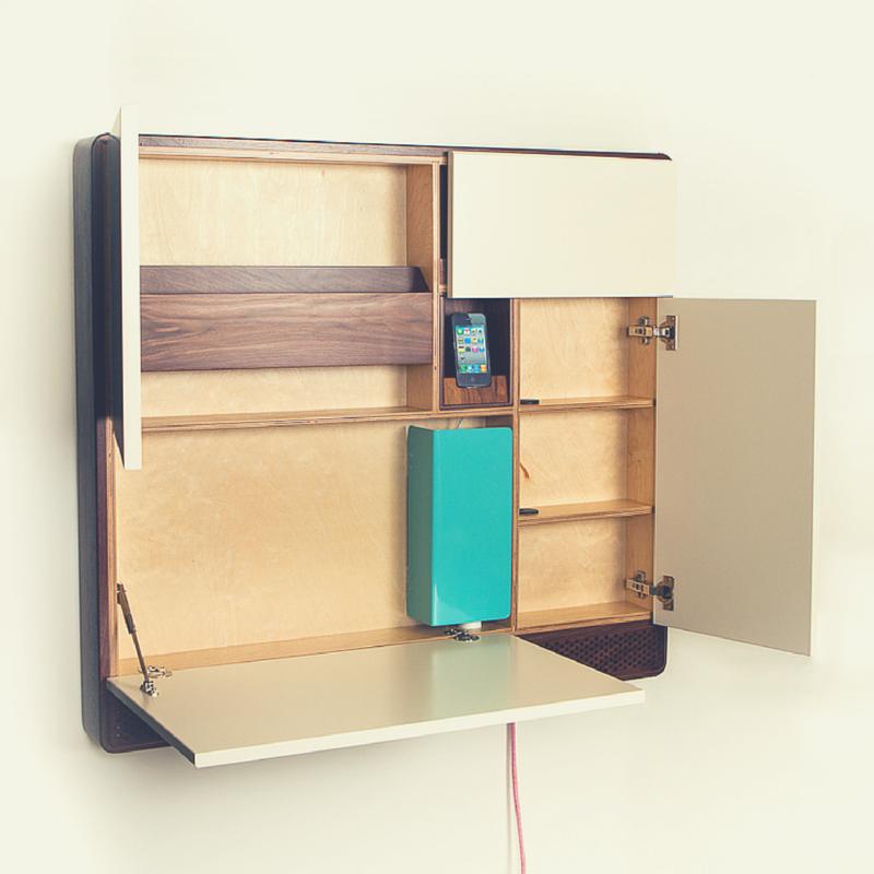 Studio apartment design idea: good pod, bad pod.