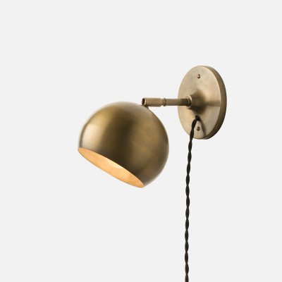 the latest d2236 149b7 Splurge or Save: Brass Plug-In Wall Sconces | Havenly's Blog!