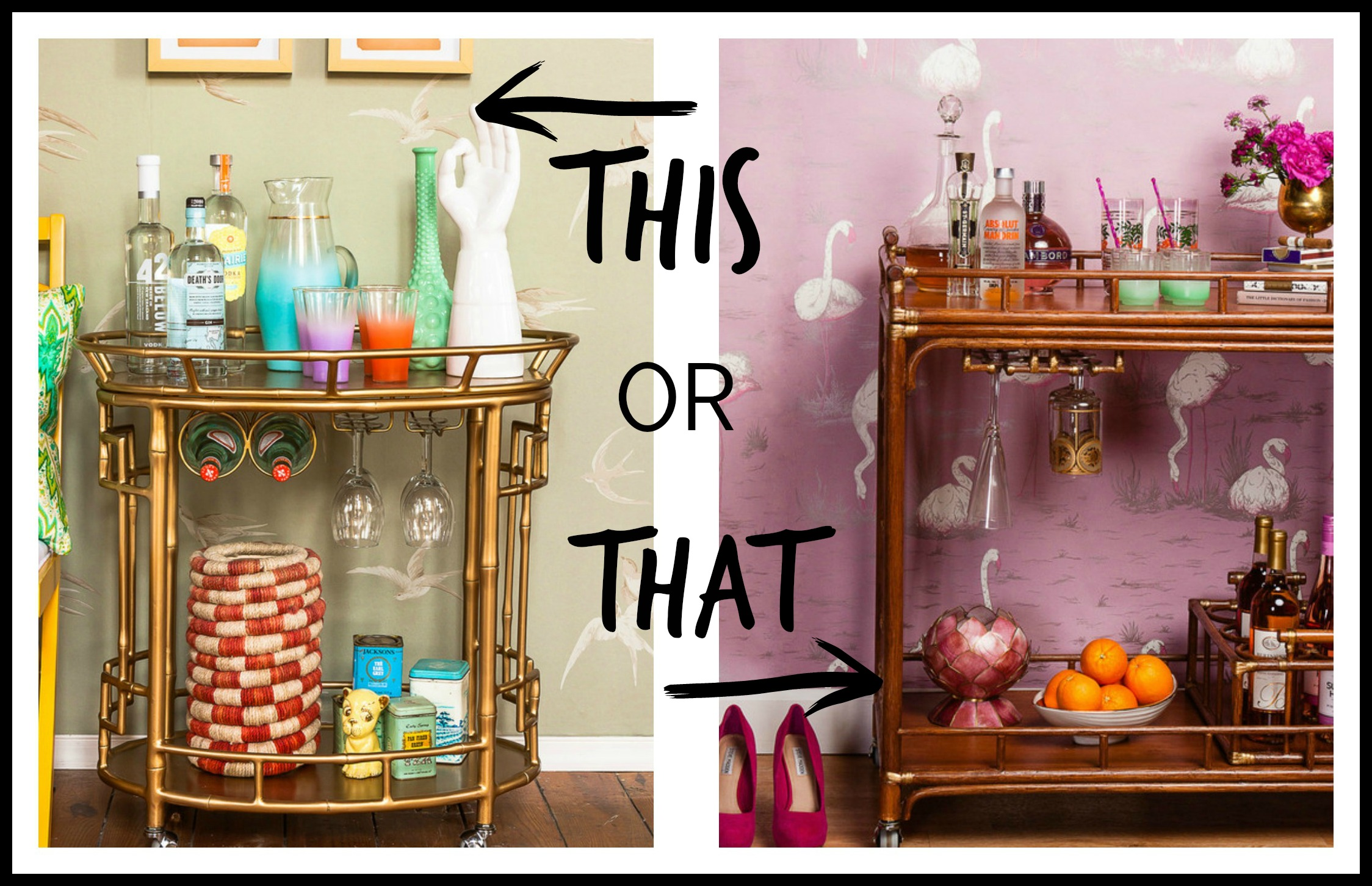 this or that society social bar carts the havenly blog. Black Bedroom Furniture Sets. Home Design Ideas