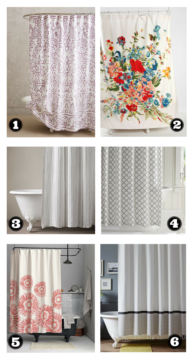 the 6 best shower curtains for your bathroom the havenly blog