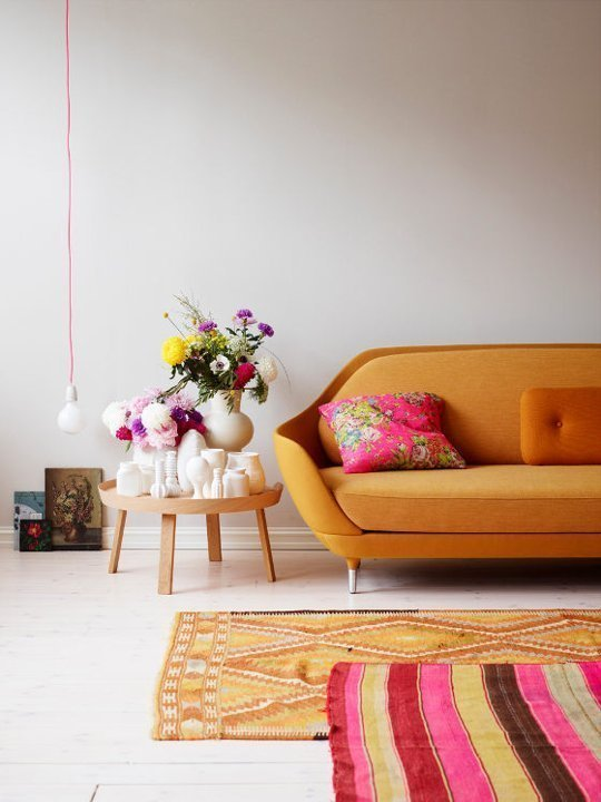 How To Layer Rugs With Color Considerations