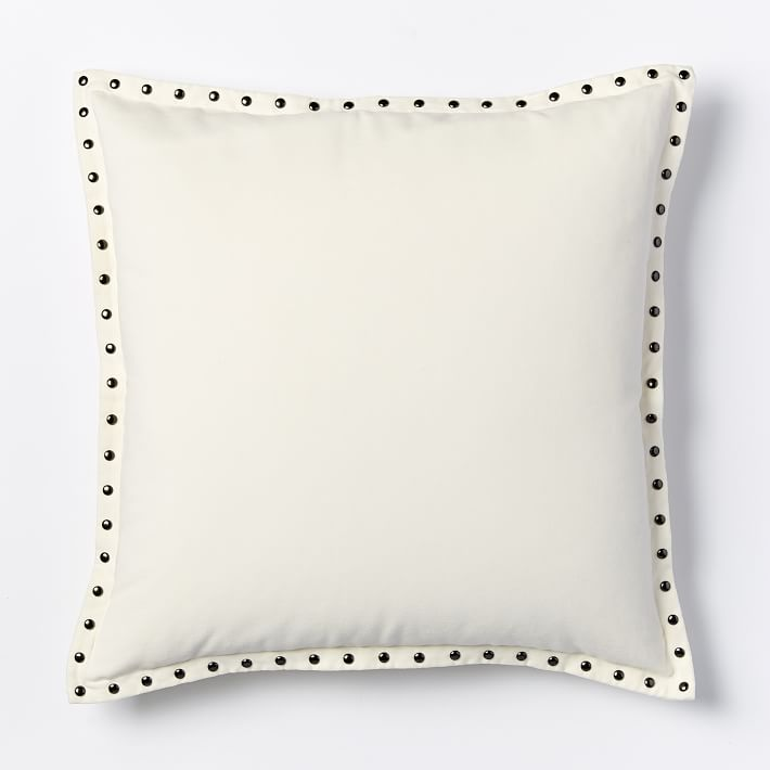 The perfect accent to any home, this studded pillow does it all. See more of Havenly's favorite studded pieces.