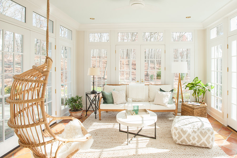 Learn how Abigail designed an envy-inducing sunroom.