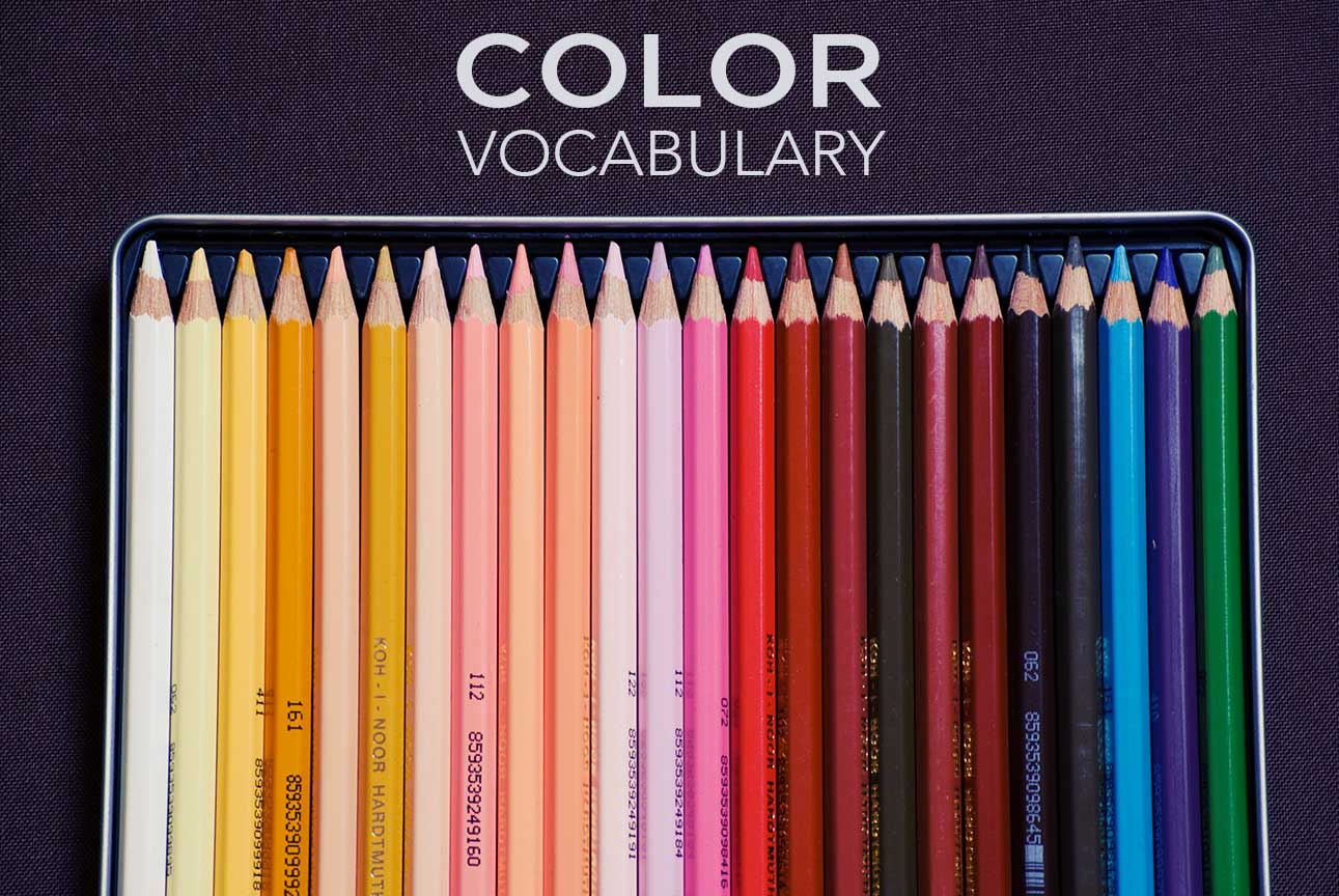How well do you know your color vocabulary?