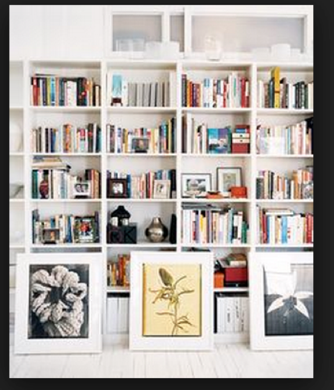 If you have minimal wall space or you've already filled your available space, perhaps it's time to get a little creative with placement.