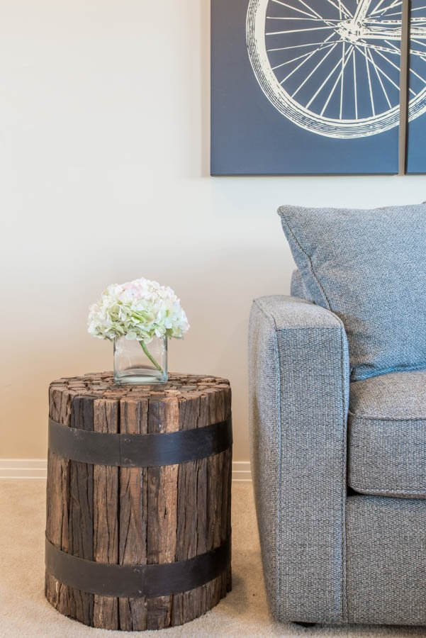 Client Spotlight: Cori's Transitional Chic Living Room