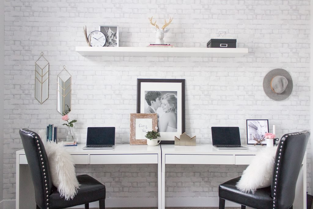 Client Spotlight: A Charming Office Built For Newlyweds