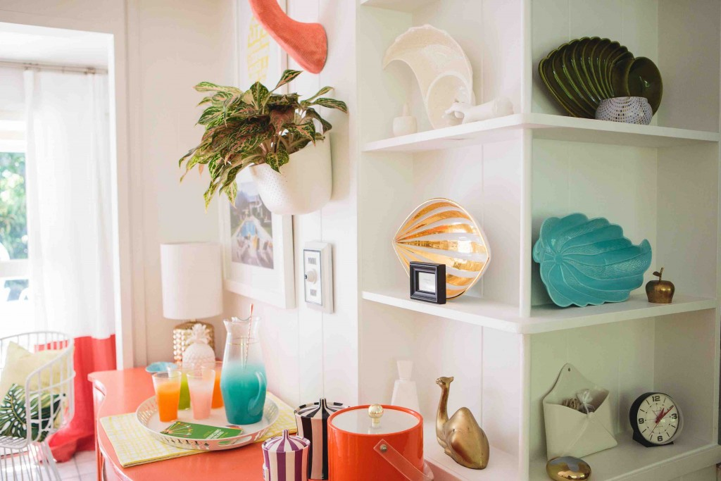 Decor dreaming in Mrs. Lilien's tropical pad by Havenly.
