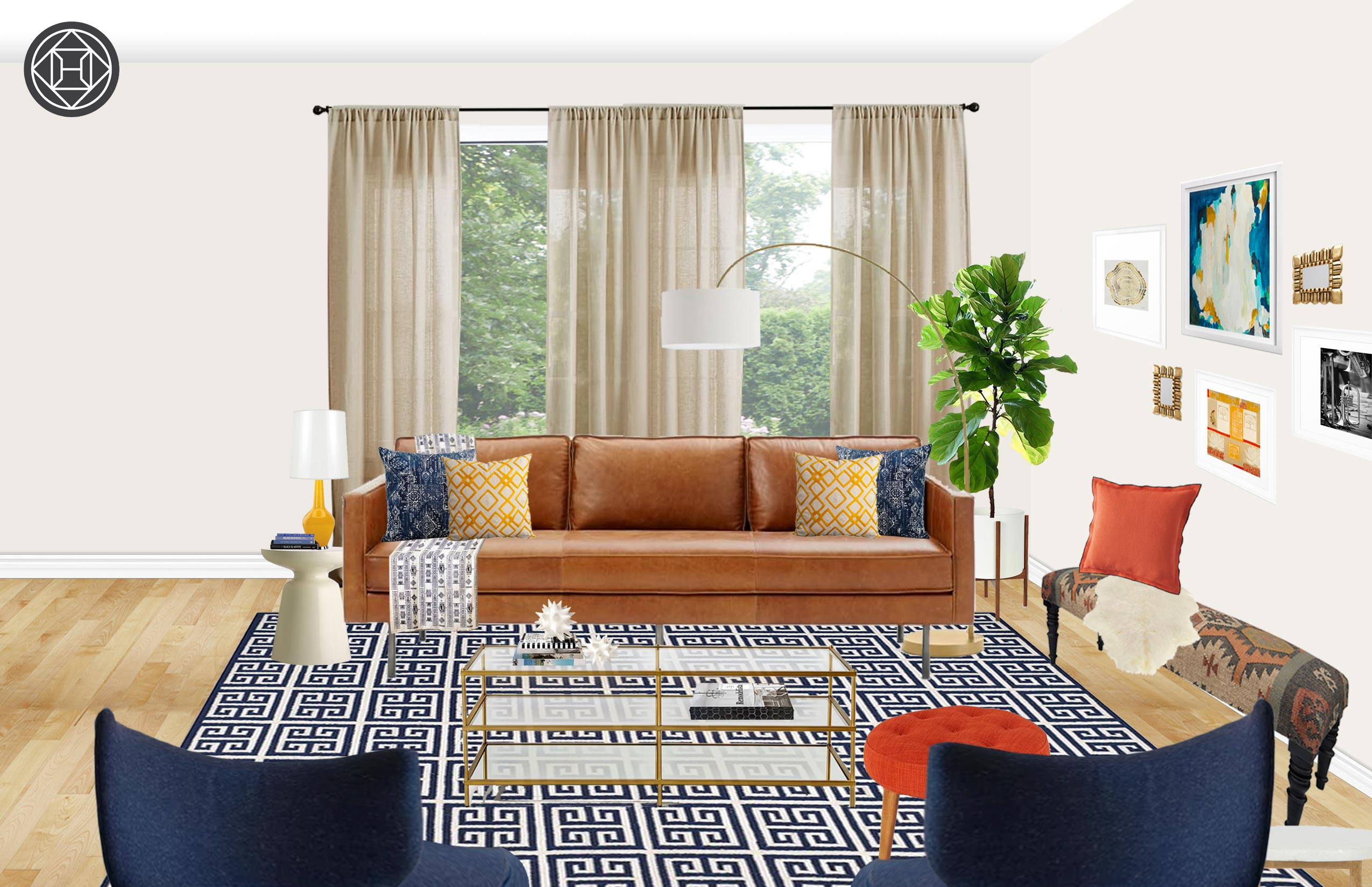 Satisfy Your Style Craving With An Eclectic Living Room Design