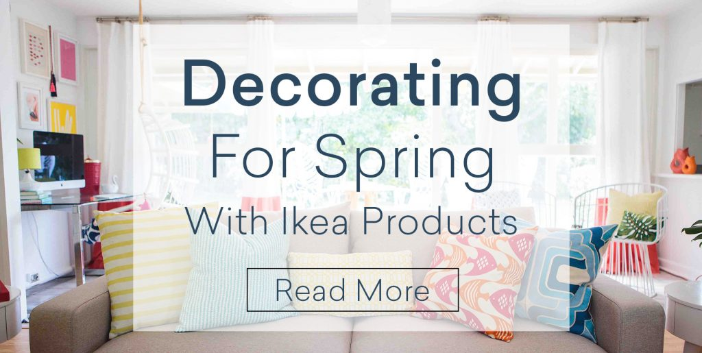 decorating with Ikea products