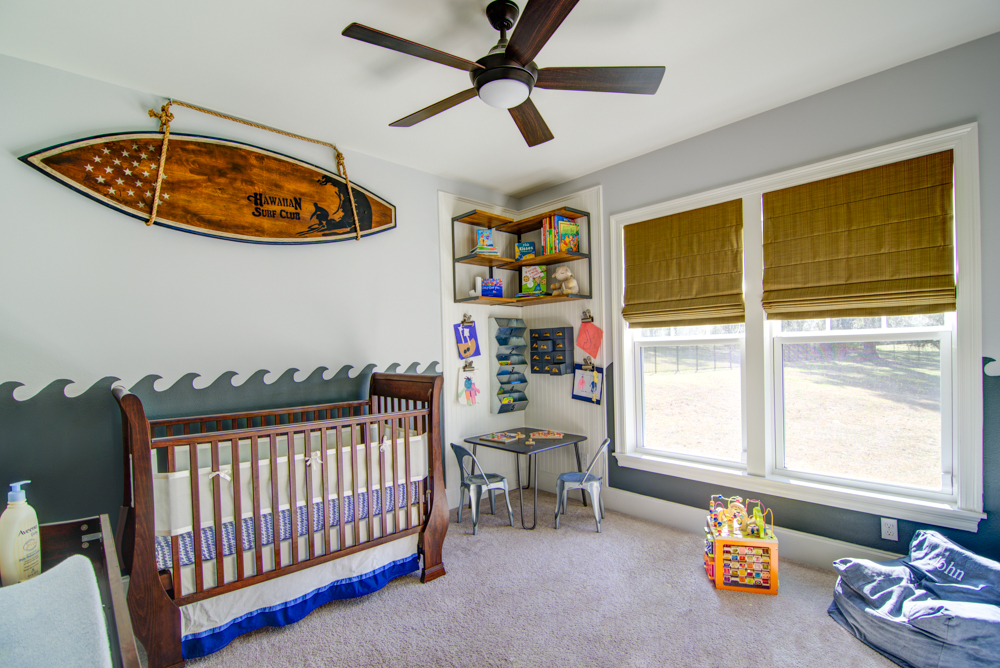 A coastal surf shack nursery for the toddler years havenly for Surf nursery ideas