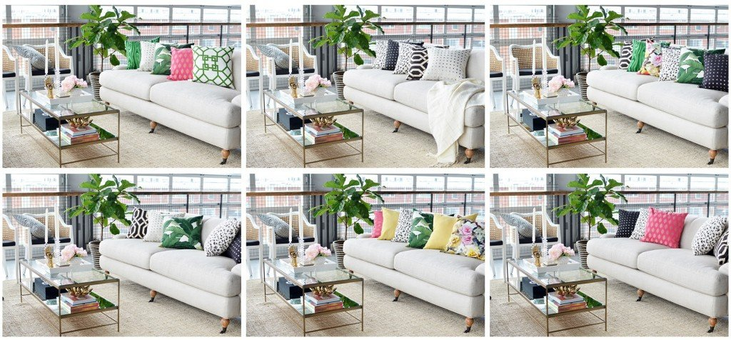 Throw It Together: Six Shoppable Throw Pillow Looks With Loom Decor