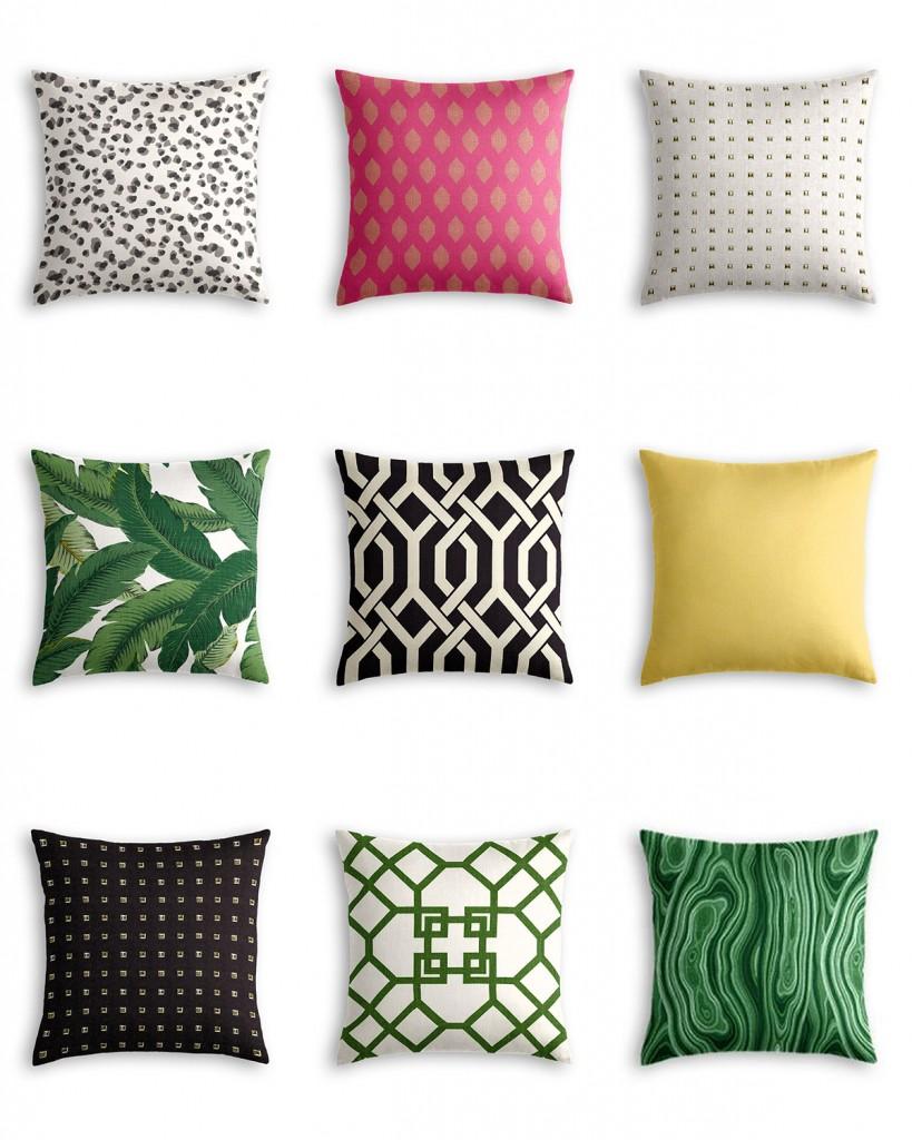 Six Unique Throw Pillow Looks