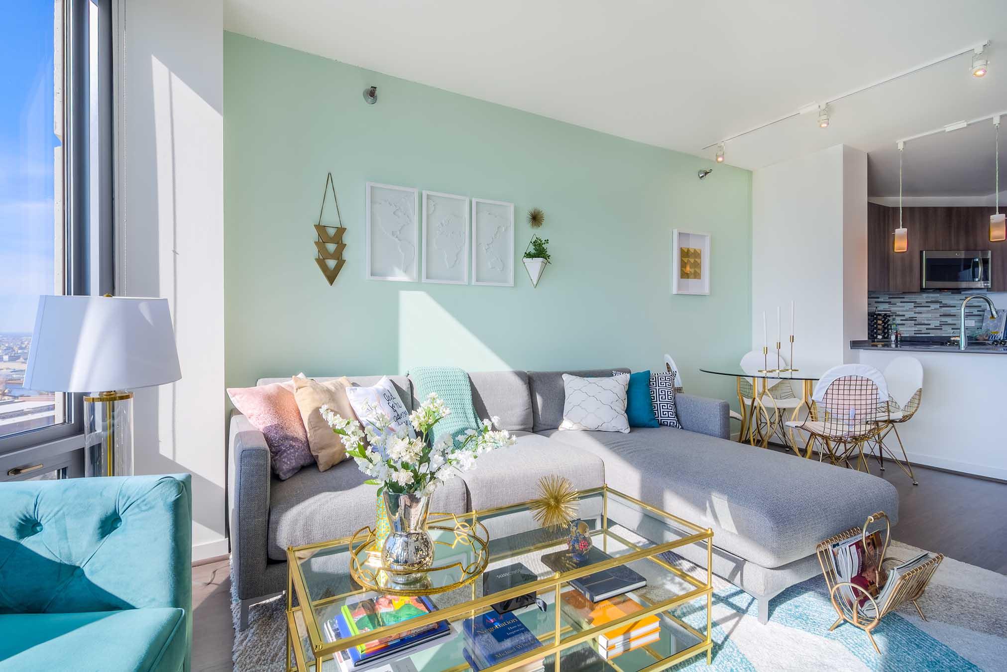 Designing a rental worth calling home the haven - Rental apartment interior design ...