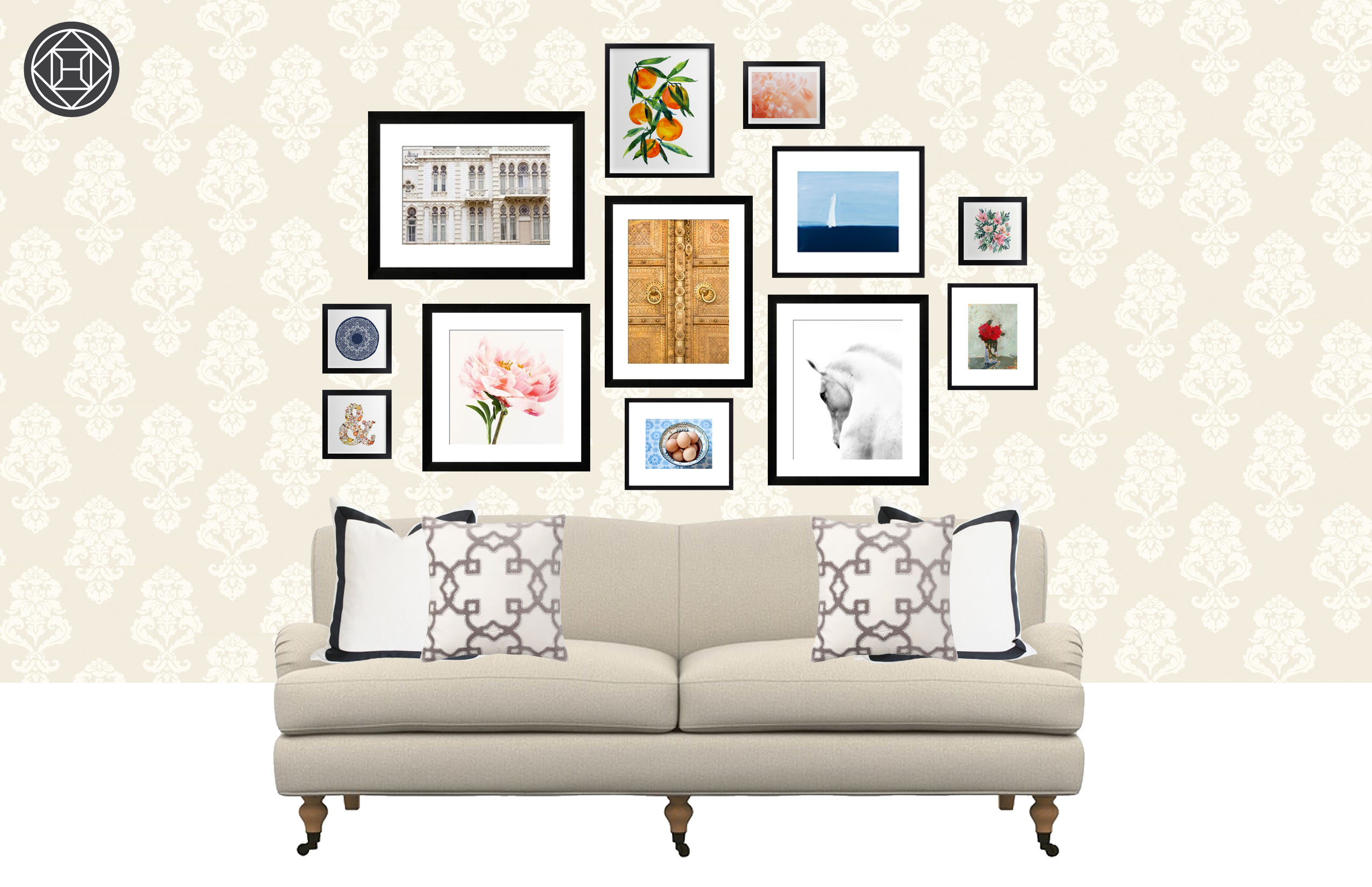 4 Art Hanging Ideas For Your Living Room