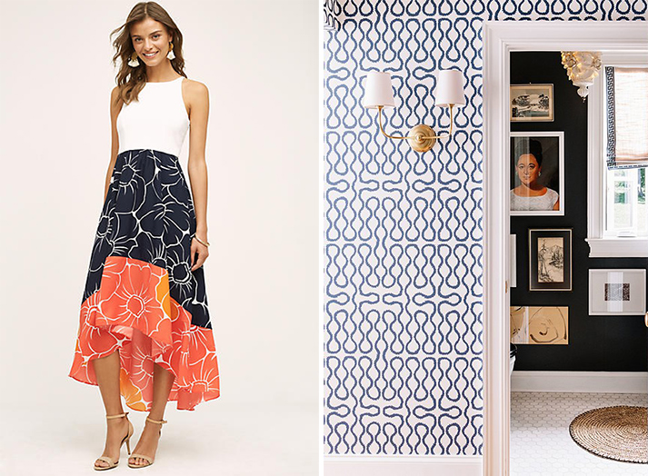 4 Summer Dresses And Their Home Design Matches | Havenly Hideaway