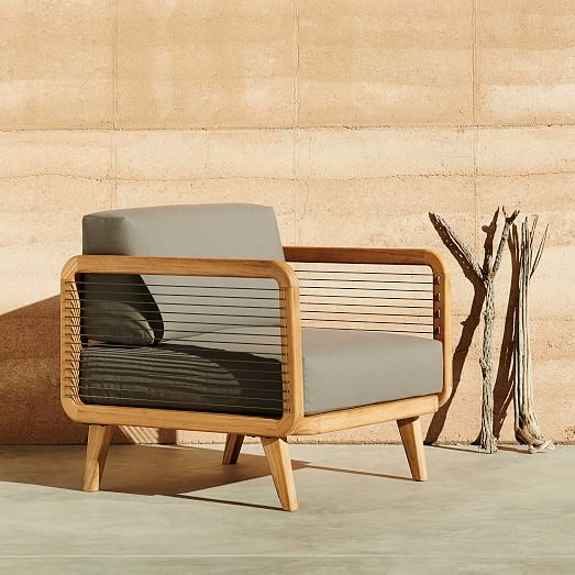 Attirant The John Vogel Outdoor Lounge Chair By West Elm $849u2033  Title_alignu003du201dseparator_align_centeru201d El_widthu003du201d100u2033 Styleu003du201dsolidu201d  Accent_coloru003du201d#EEEEEEu201d Paddingu003du201d20px ...