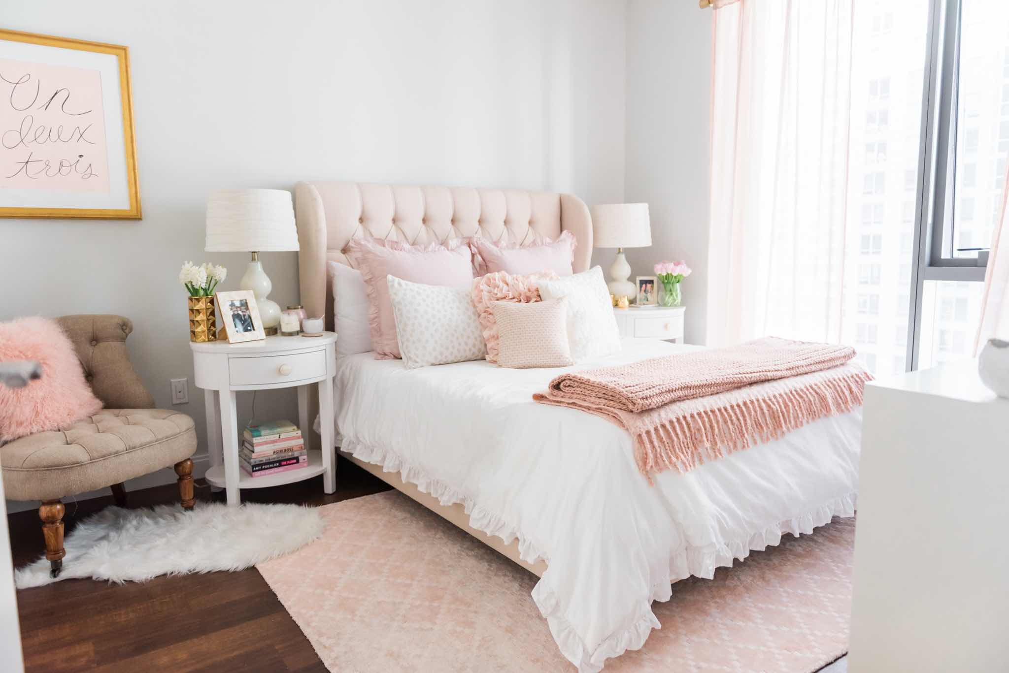 Design Story: A Soft, Sweet U0026 Blush Worthy Bedroom
