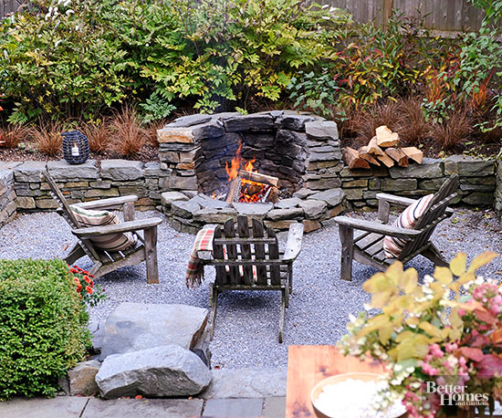 Is it a back yard party or a night you'll fondly remember. Fire pit for the latter.