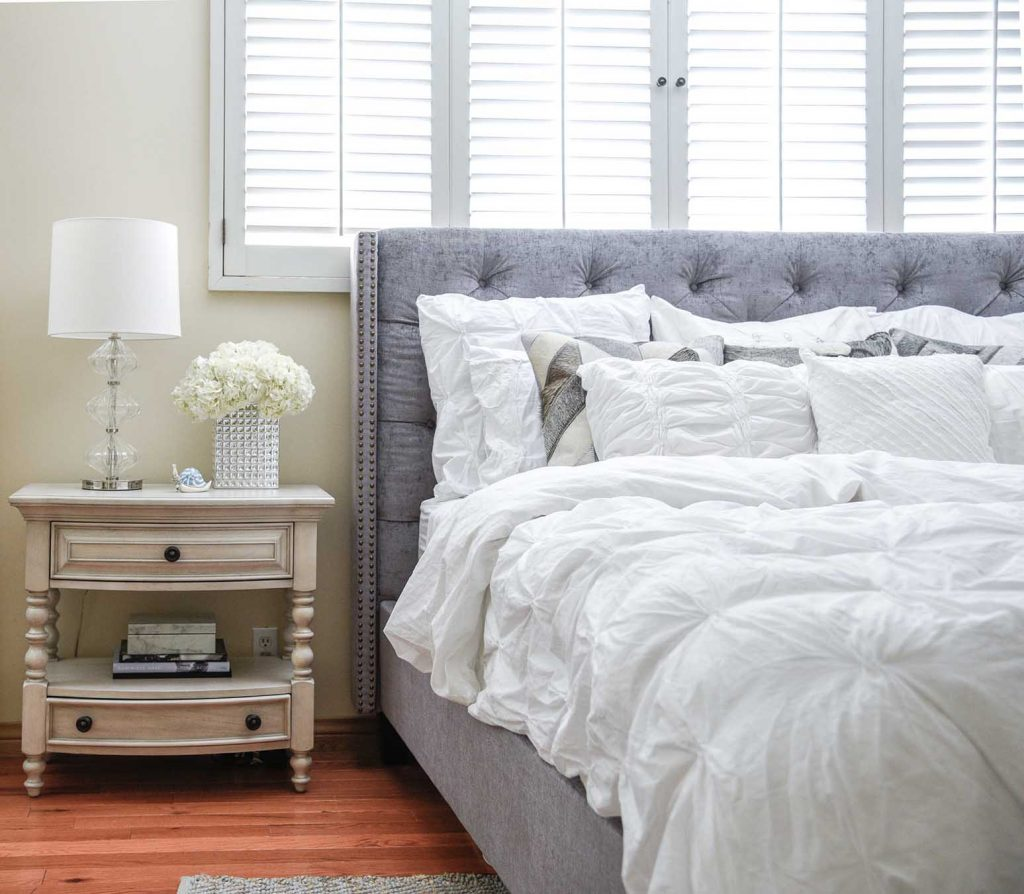 Design Story: A Cool, Calm & Sophisticated Bedroom Project