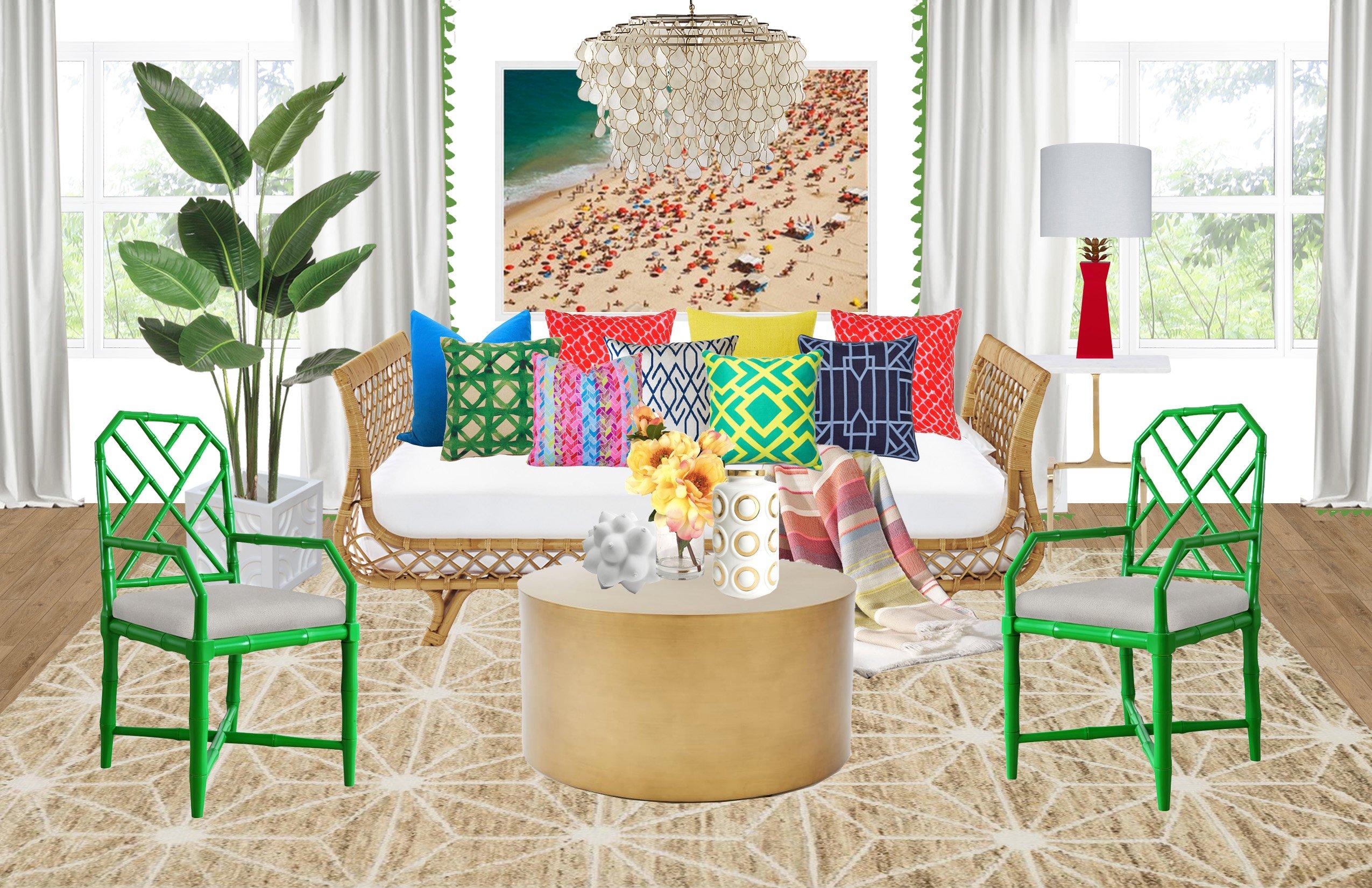 A Rio Living Room Look