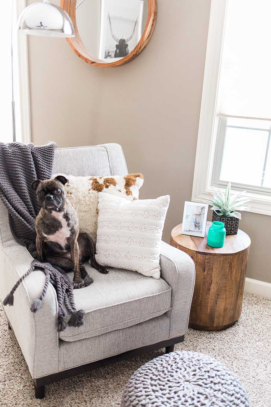 Before & After With Havenly: A Stunning Living Room Makeover