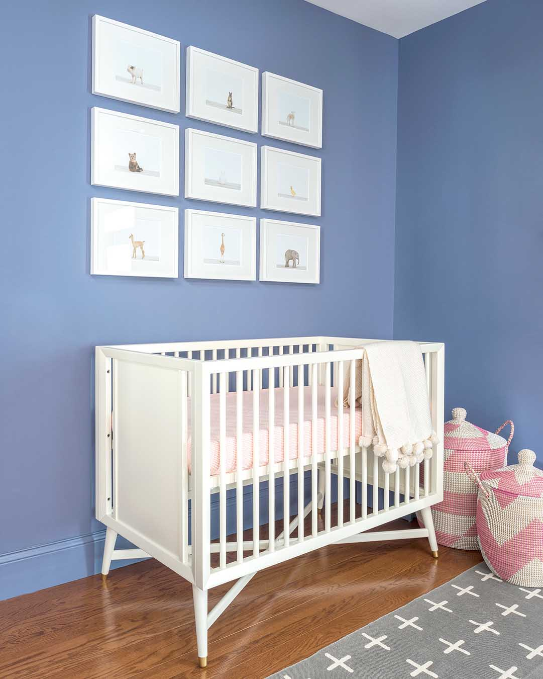 Everything We Know About Beyonce S Nursery Design Ideas: Design Story: A Family's First Nursery