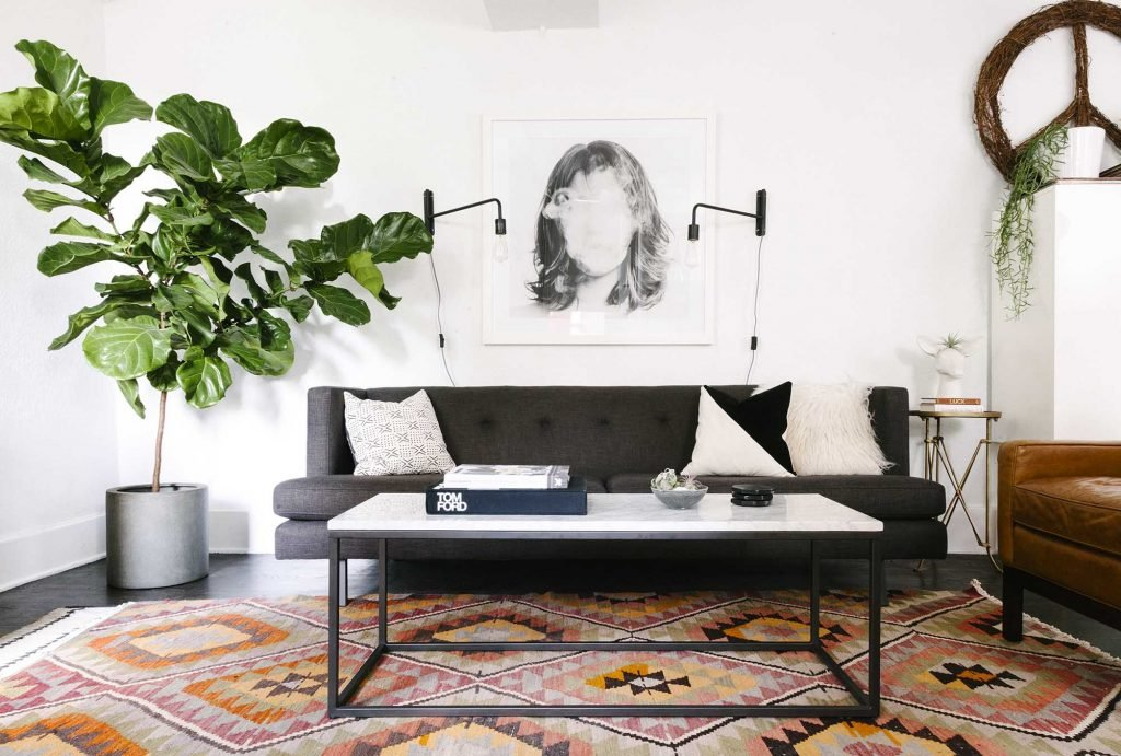Design Story: Amy's 600 Square Feet Of Eclectic & Modern Charm