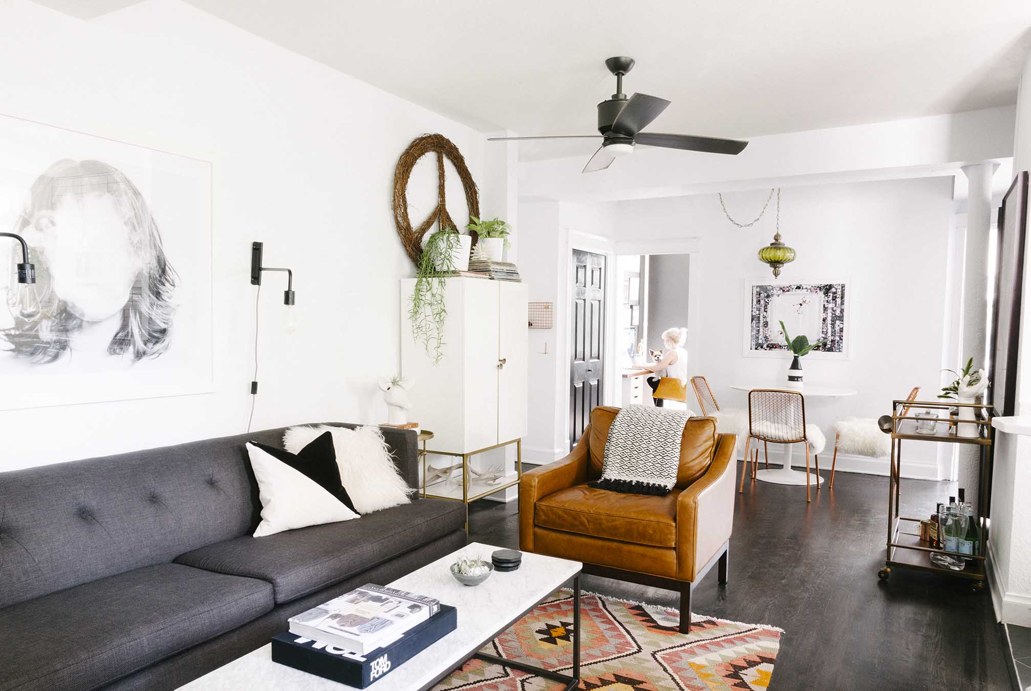 Amys 600 Square Feet Of Eclectic And Modern Charm Havenly