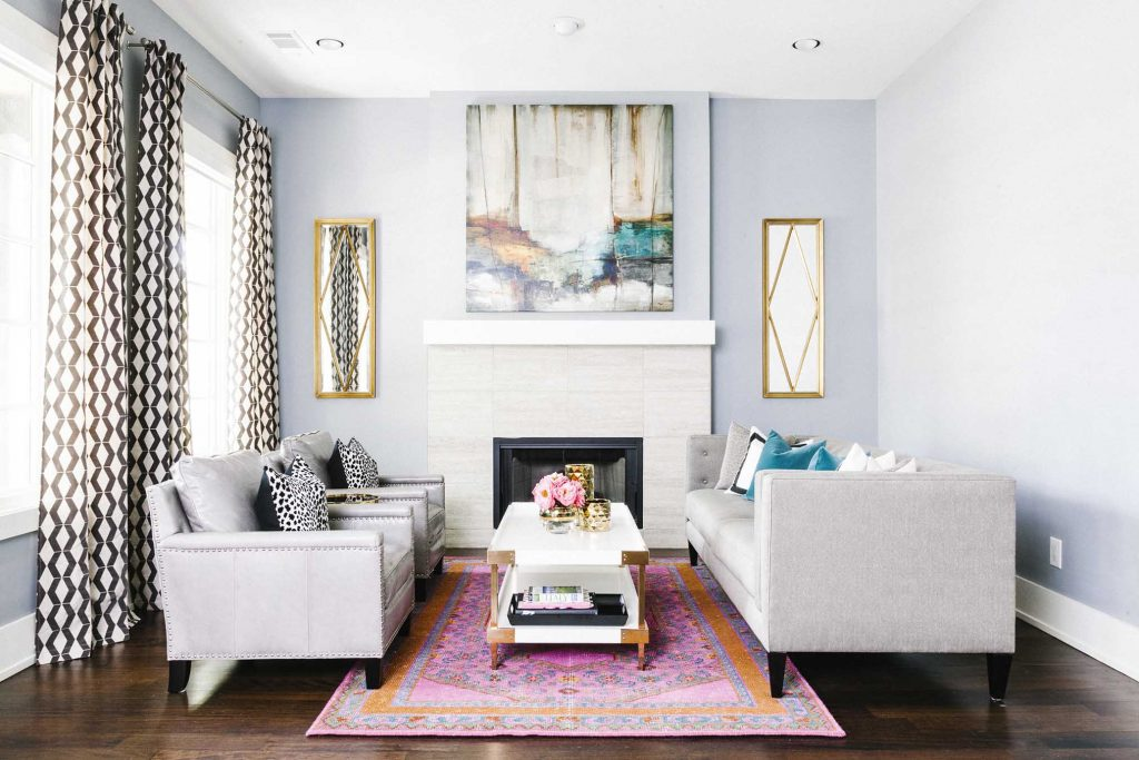 Design Story: Tall Ceiling Decor Tips From Mindy's Home Design Project