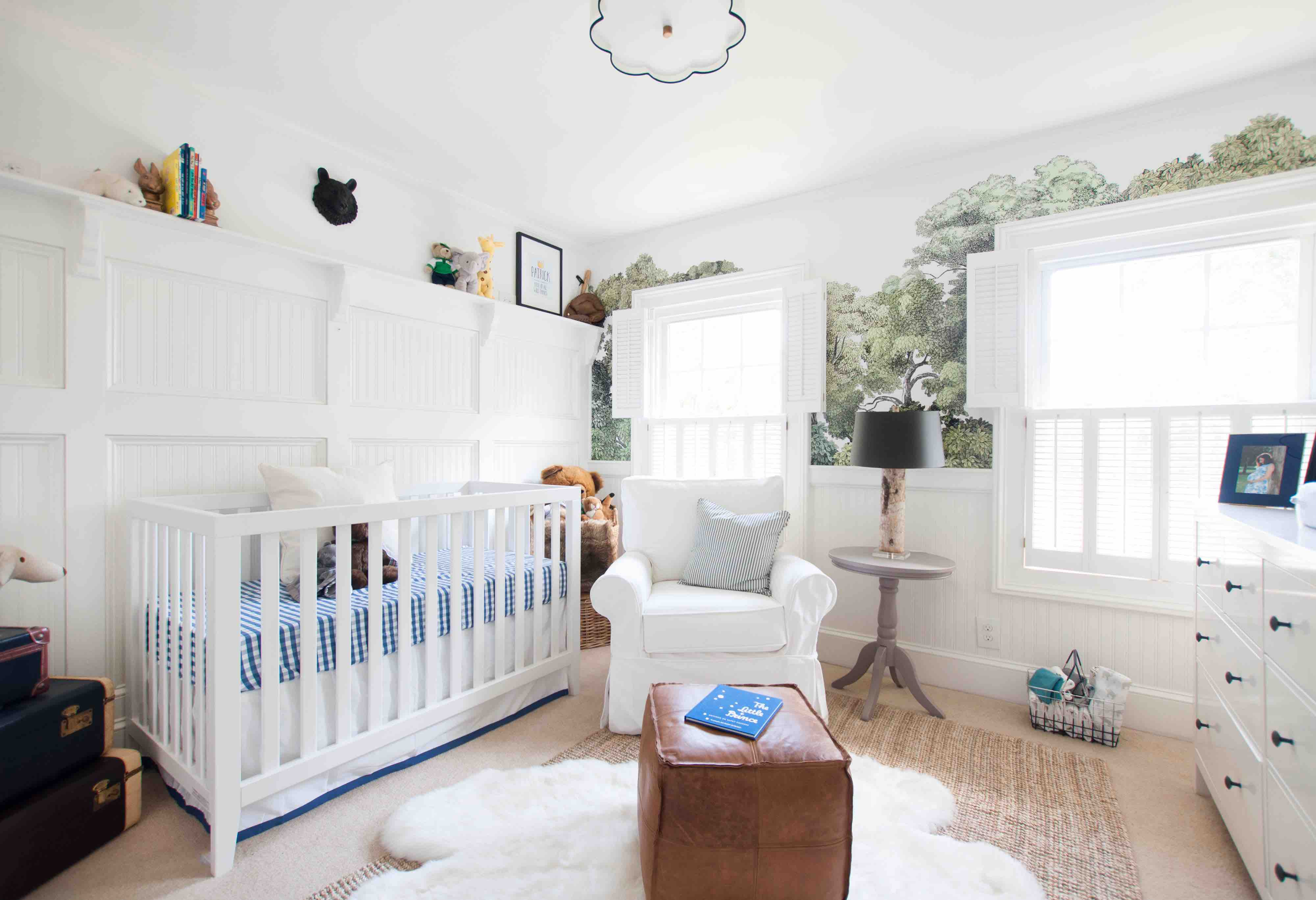 Nursery design tip 1: Design for light control.