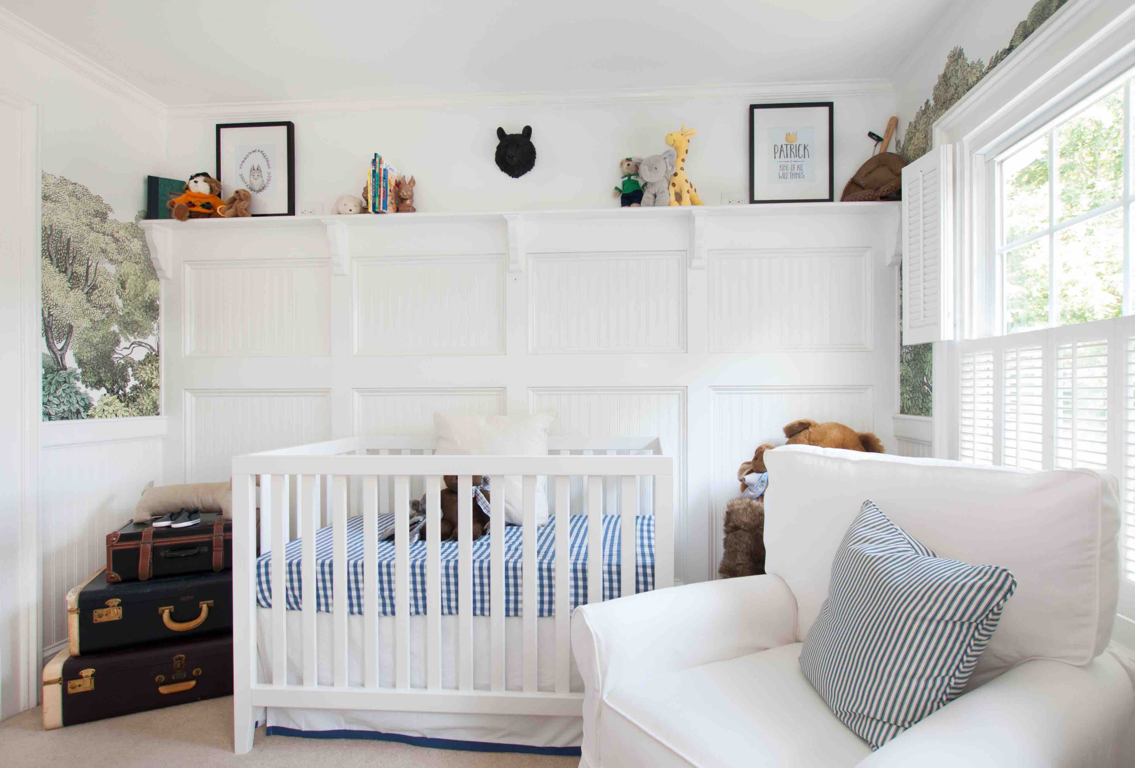 Nursery Design Tip 3: Everything is storage!