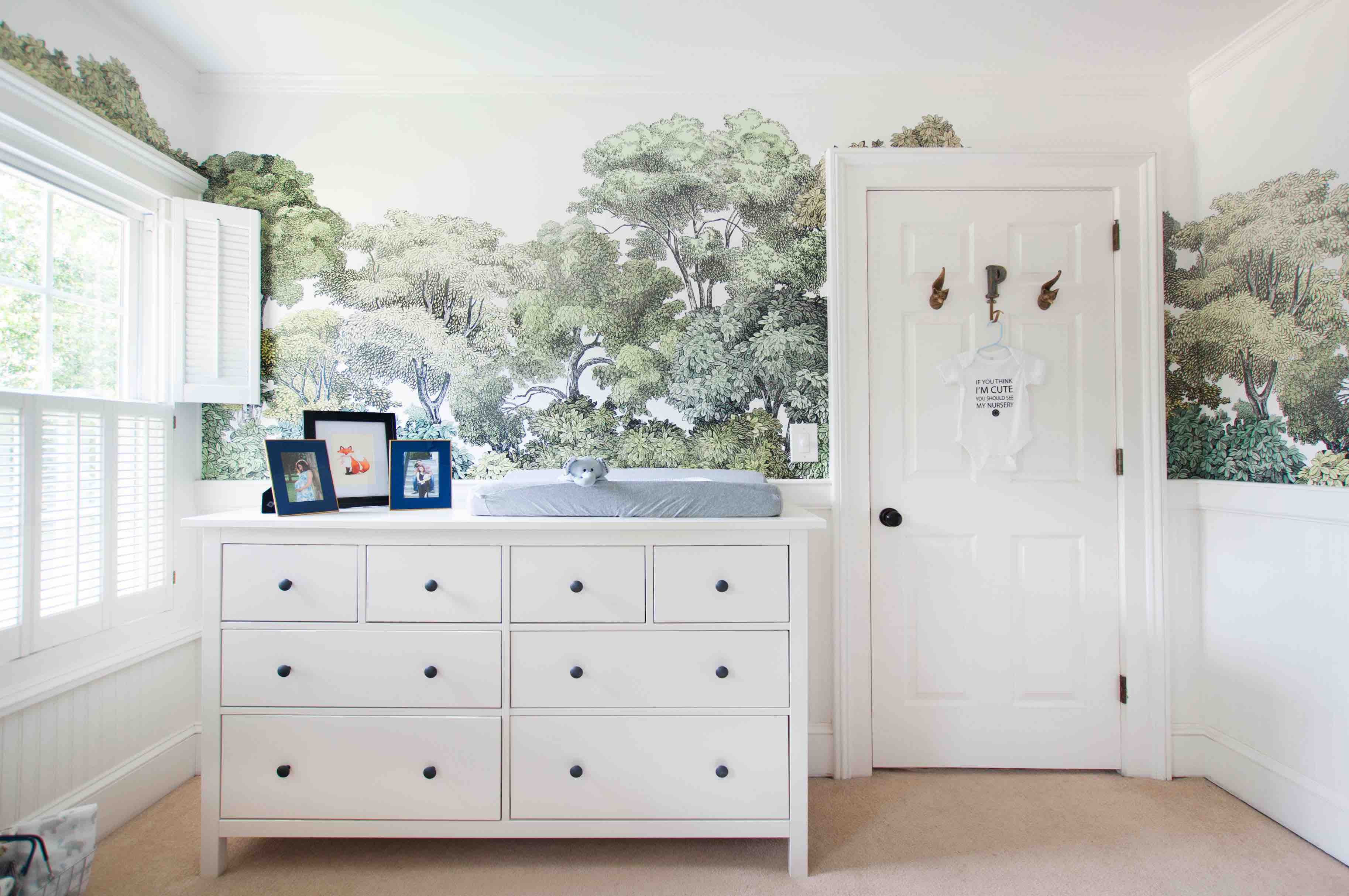 Nursery design tip 2: Design outside the box