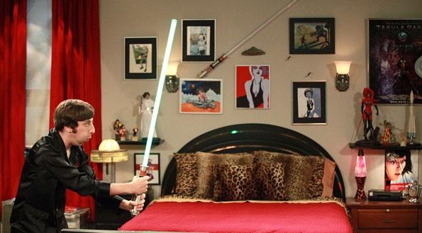 Howard's room